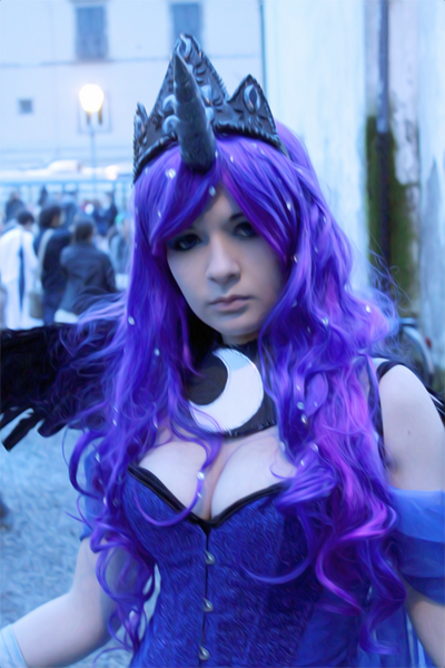 Princess Luna Cosplay - MLP FIM By SissiSuzuki On DeviantArt