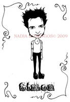 Simon Gallup by Nadia-Domingos