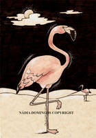 The Flamingos by Nadia-Domingos