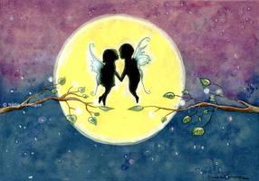 fairy love by Nadia-Domingos