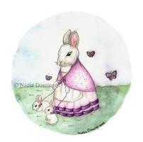 Bunny love by Nadia-Domingos