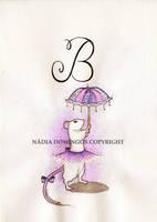 B de Bailarina by Nadia-Domingos