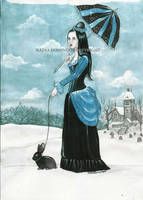 the rabbit lady by Nadia-Domingos