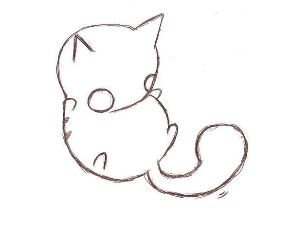 fat cat roll over by sobreinsartAnime Chibi Cat Drawings