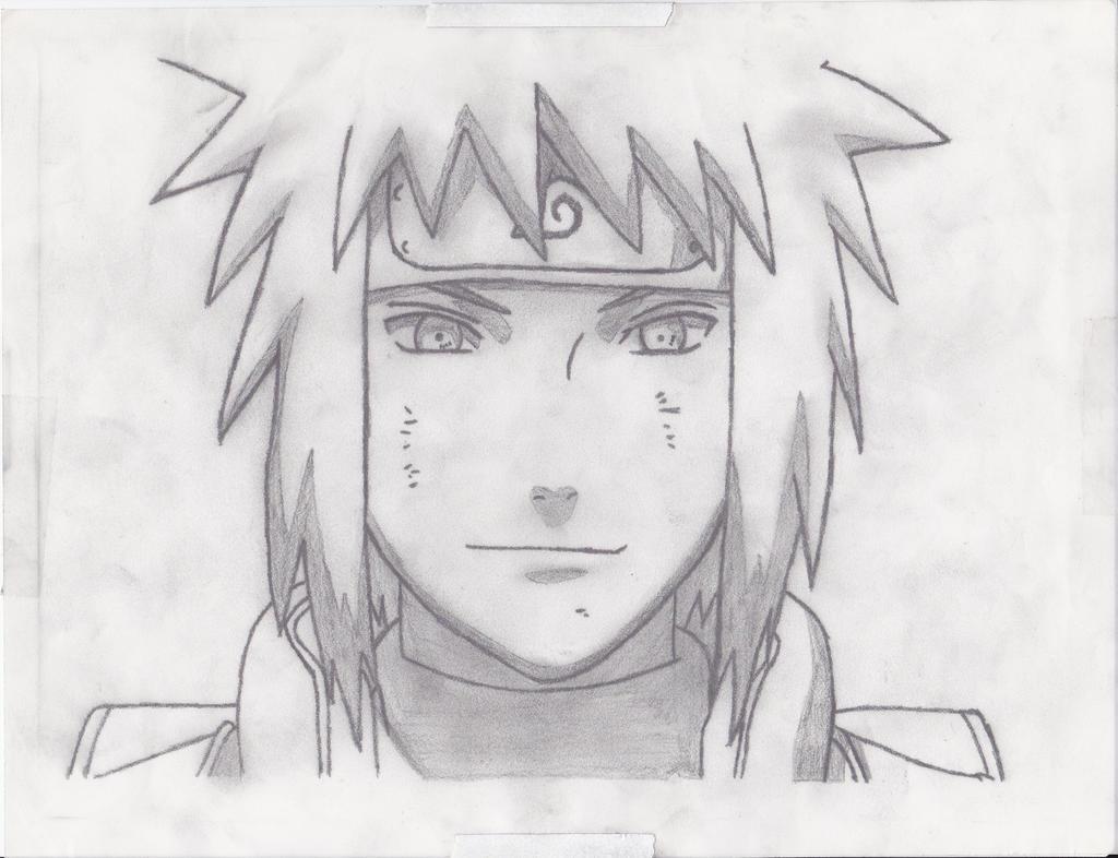 How to draw namikaze minato for Sketch it online