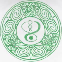 Celtic Symbol by Grimstnzborith