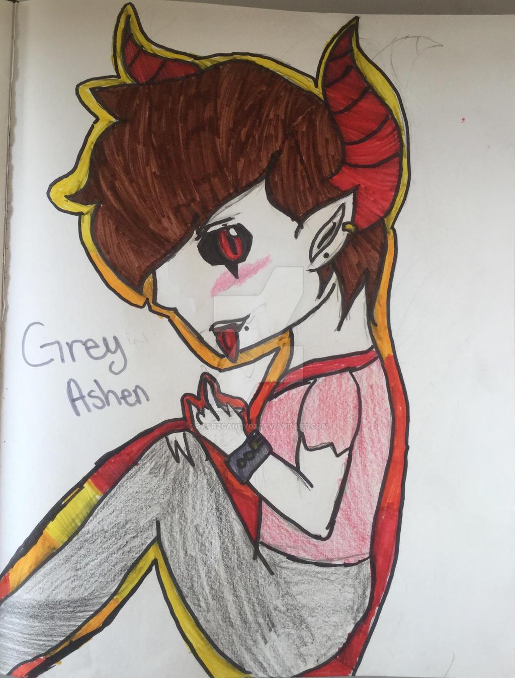 Grey Ashen by StarZCandy03
