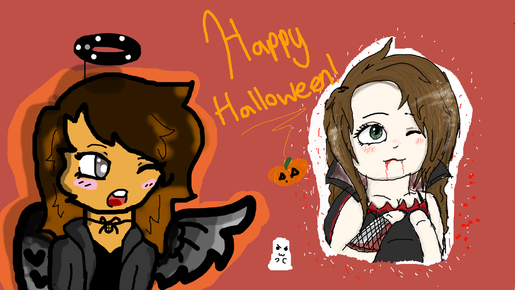 Happy Halloween (Late) (Collab) by StarZCandy03