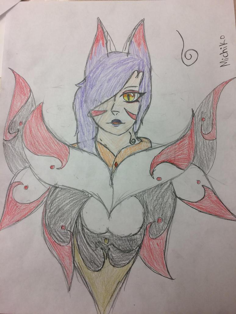 Michiko The Fox Goddess (OBM) by StarZCandy03