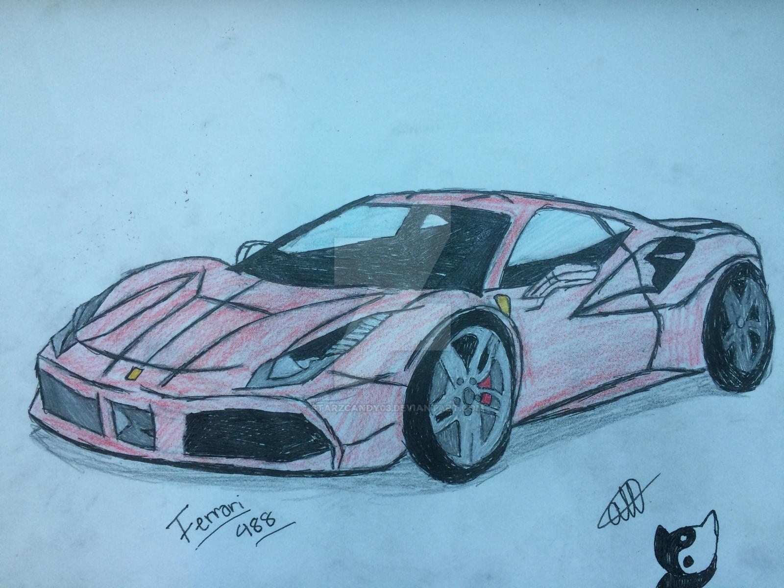 Ferrari488 (Re lighting) by StarZCandy03