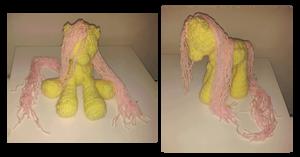 mlp crochet doll prototype