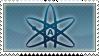 Atheist Stamp by dakazi