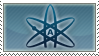 Atheist Stamp by dakazi