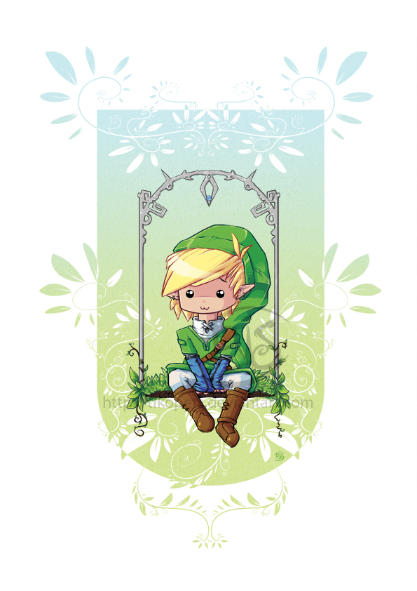 Zelda Cute Link By Tikopets