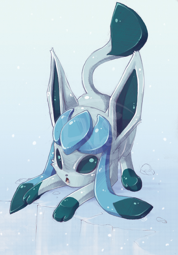 Glaceon by tikopets