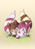 Sprankling Furret by tikopets