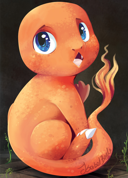 Charmander aceo by tikopets