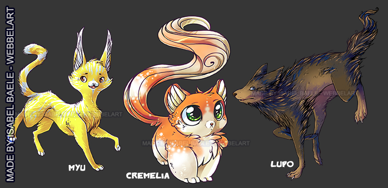 Name the adoptable Species! by tikopets
