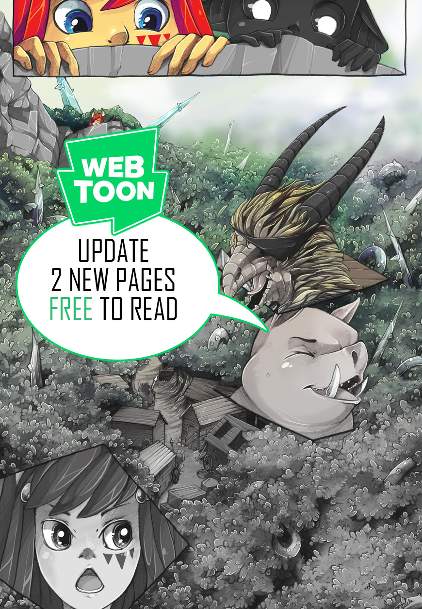 The Quest of Yin Webtoon Update by tikopets