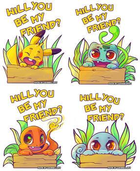 Will you be my friend  PokemonGO