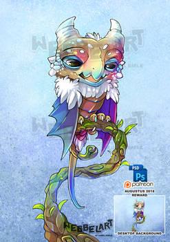 Smaugust Owl Dragon