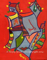 Picasso Mask by Asleepyspiritart