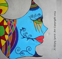 Butterfly Mask 2 by Asleepyspiritart