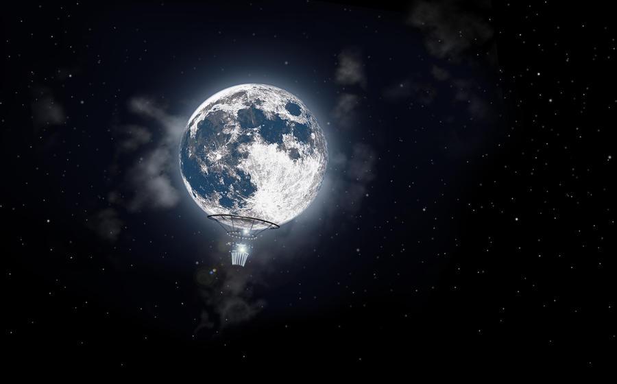 moon balloon by zomboto on deviantart