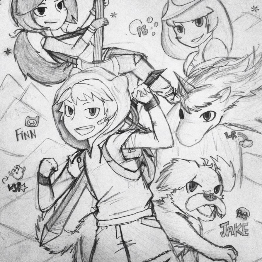 Anime - Adventure Time! by CryKunAnime on DeviantArt