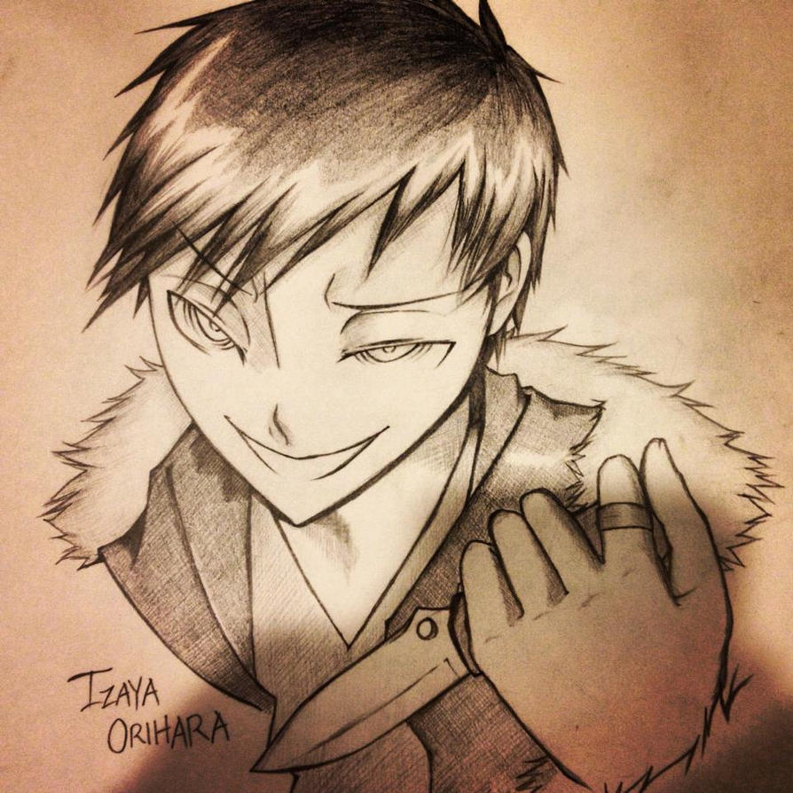Izaya Orihara - I Am Your Savior by CryKunAnime