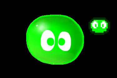 Green Puyo by Dannyman12