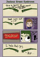 Jealous Green Eyebrows - Tableau by Saza-Productions