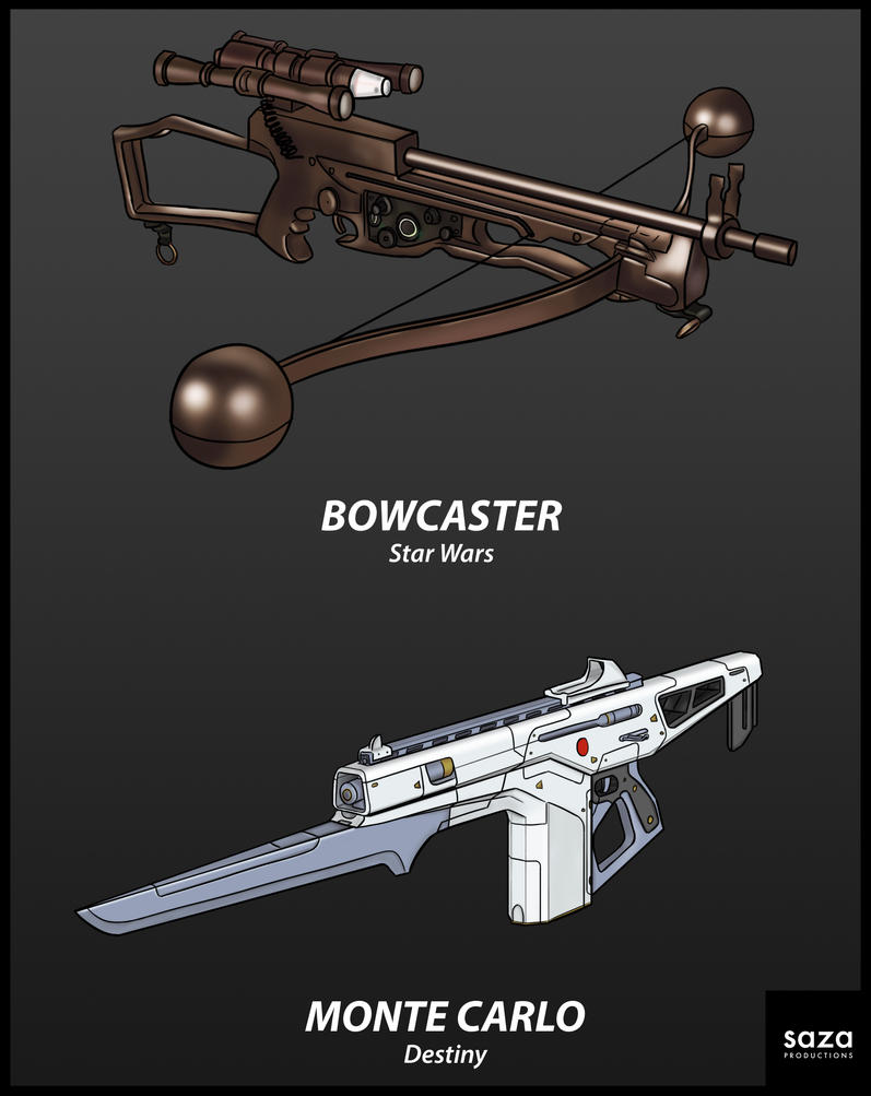 Scifi Gun Studies by Saza-Productions