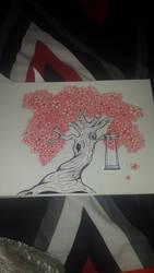 A Lonely Tree by Edith-Aka-Edi