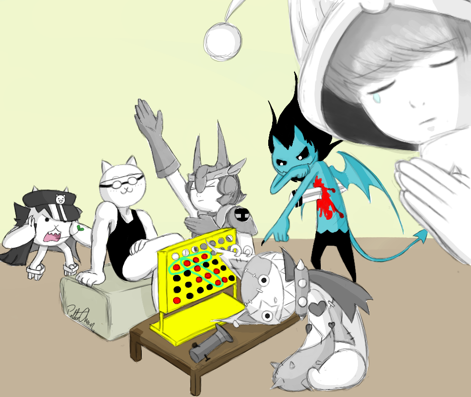 Battle Cats Connect Four! by PolterChan on DeviantArt
