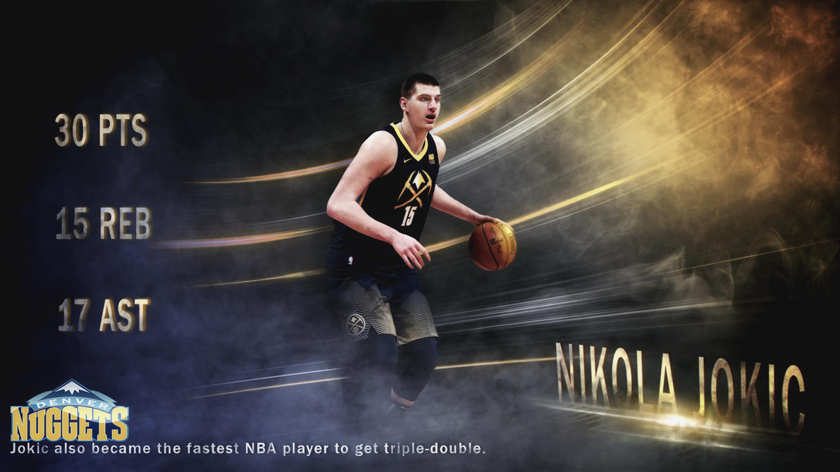 Nikola Jokic fastest TRIPLE-DOUBLE ! by AYGBMN