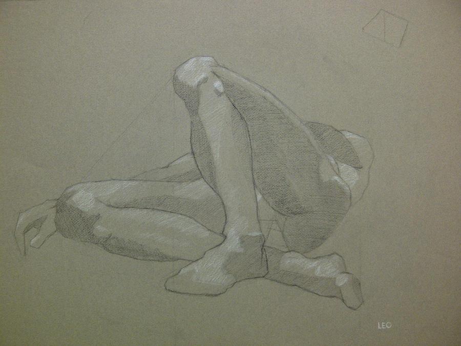 Foreshortening Pose #2 by LeonelCross on DeviantArt