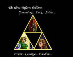 Legend of Zelda Triforce by Asuki2Hiroshi