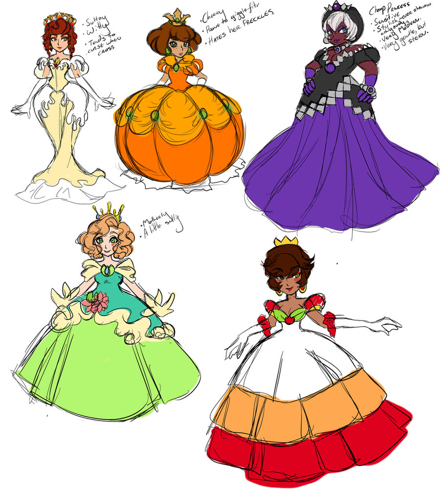 Possible Princess Auctions (Rough 1 ) by Pallypie on ...