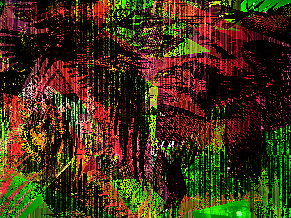 Starlings in the Slip Stream by JMbucholtz