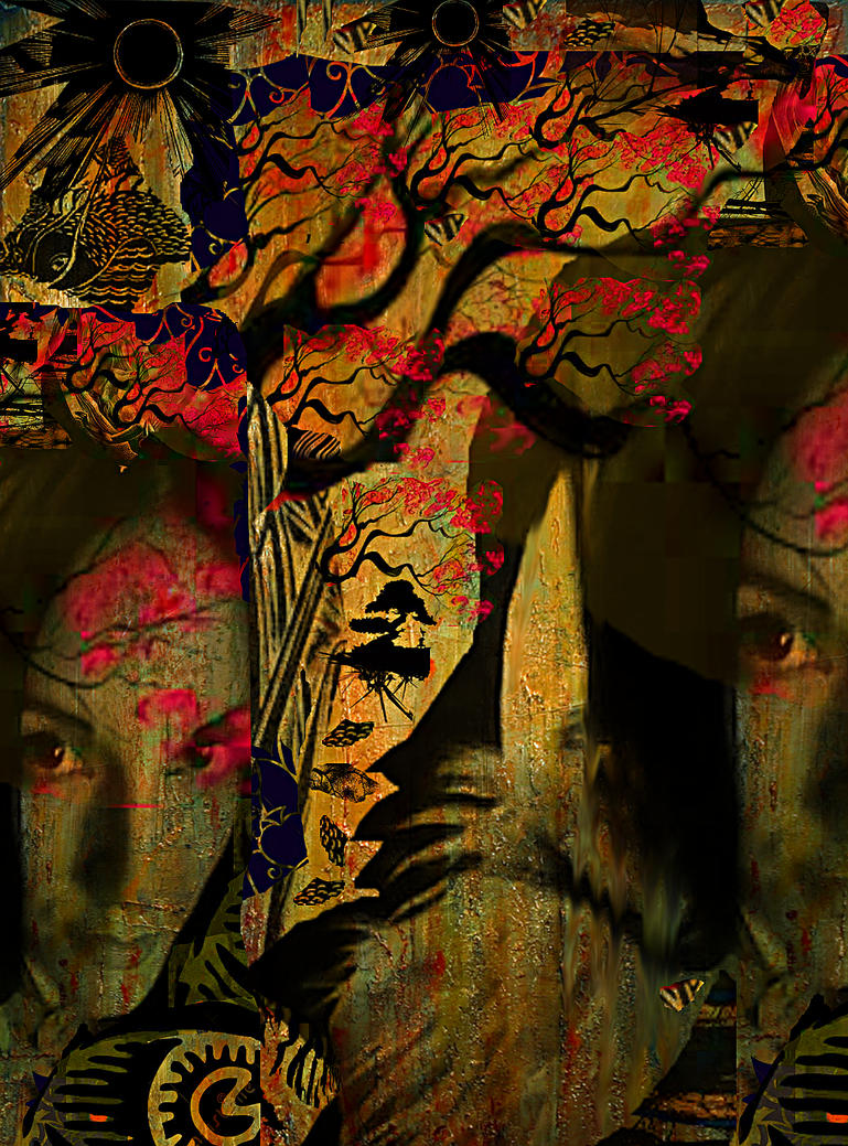 Under the Cherry Tree by JMbucholtz