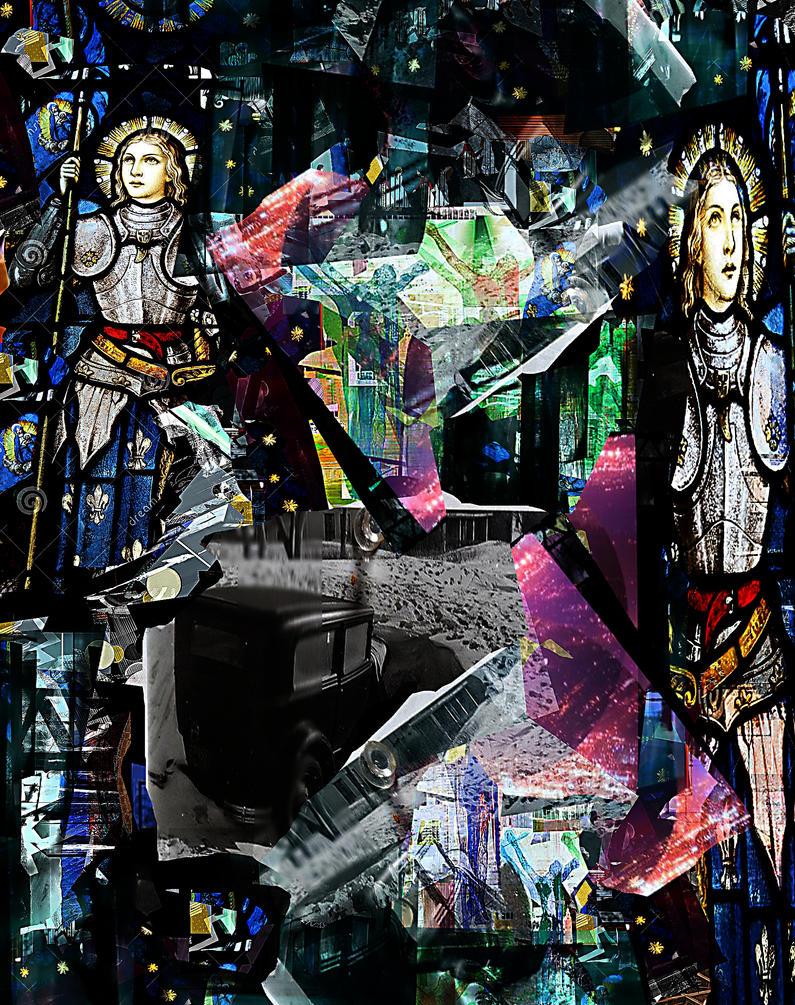 Joan of Arc Never Drove A Model T into a Snowdrift by JMbucholtz