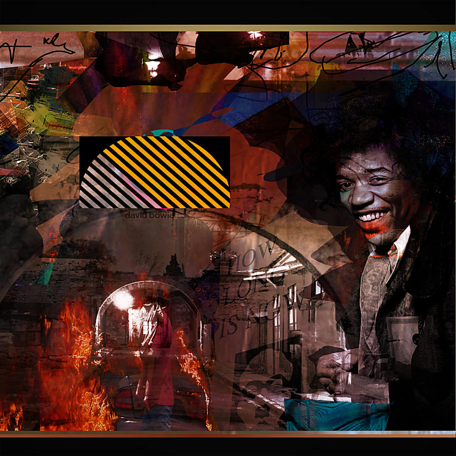 All Along the Aquaduct Jimi Smiles with You by JMbucholtz