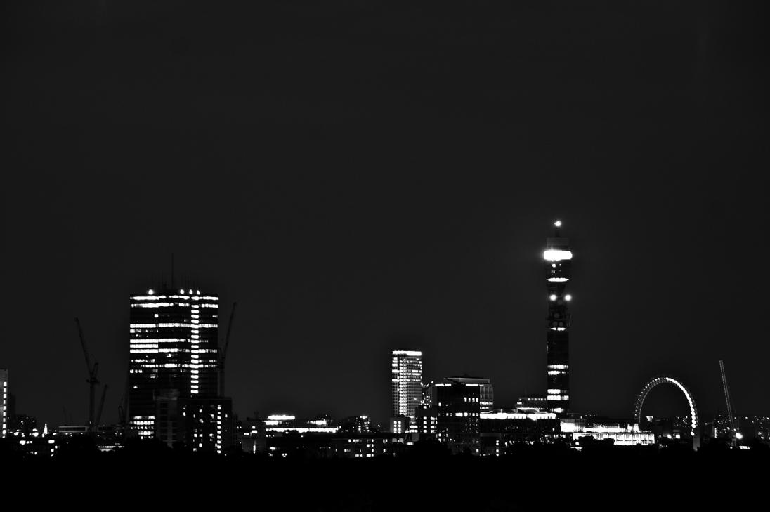 London In Black And White By Kbeekay