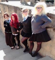 Hogwarts cosplay: Hufflepuff Best vote by koiykeuchiha