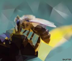 Bee art by Shufter