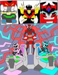 MegaZord Transformation 5