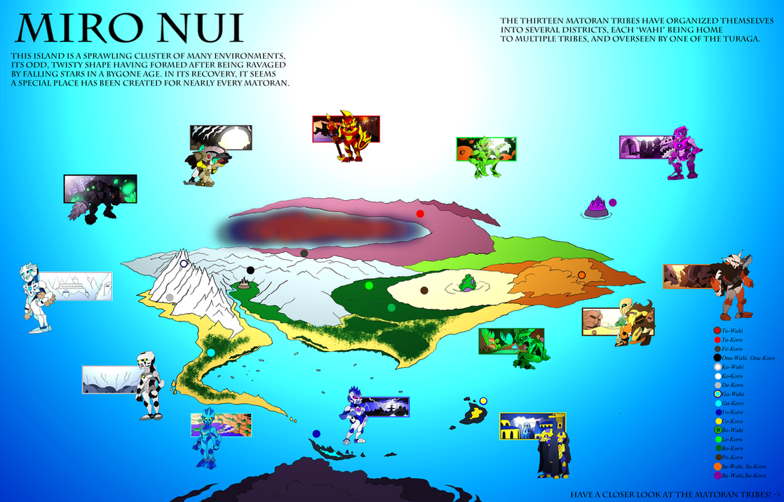 Bionicle- Nova Orbis- Miro Nui Overview by NickinAmerica