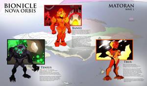 Bionicle- Nova Orbis- WAVE 1 Matoran Bios
