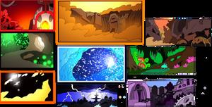 Bionicle- Nova Orbis- Backgrounds